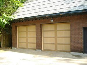 residential garage door installation replacement in st